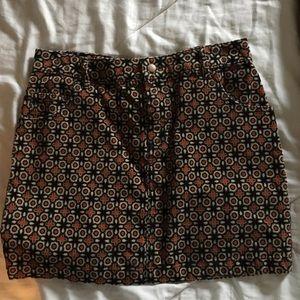Corduroy BDG mini skirt